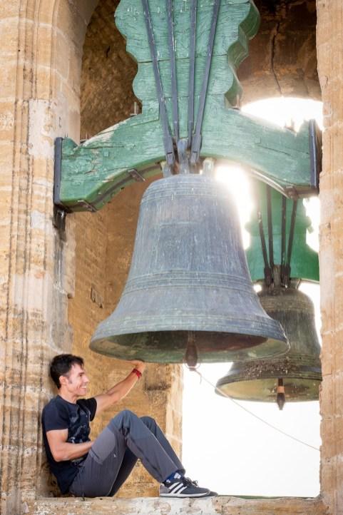 Antonio Cabrera, campanero.
