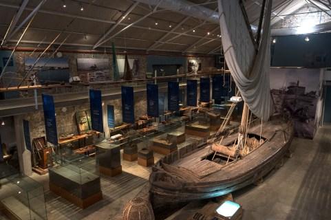 Museo de la Pesca. Sala principal.