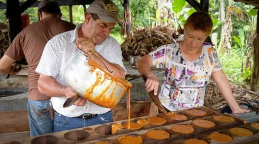 Heriberto, trapiche artesanal