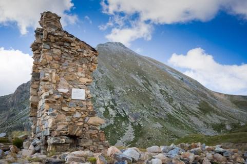 Ruinas del refugio de Ulldeter