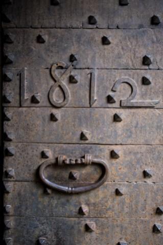 Puerta de La Rectoría de Sant Miquel de Pineda
