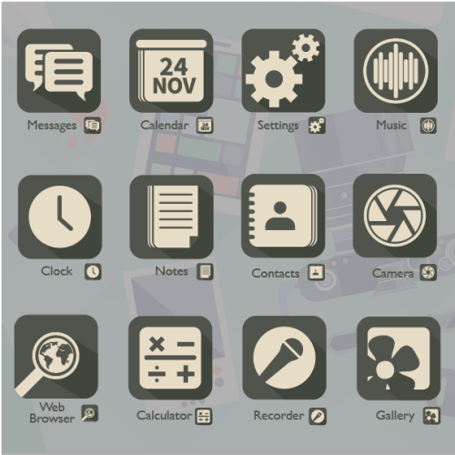 Phone Application icons
