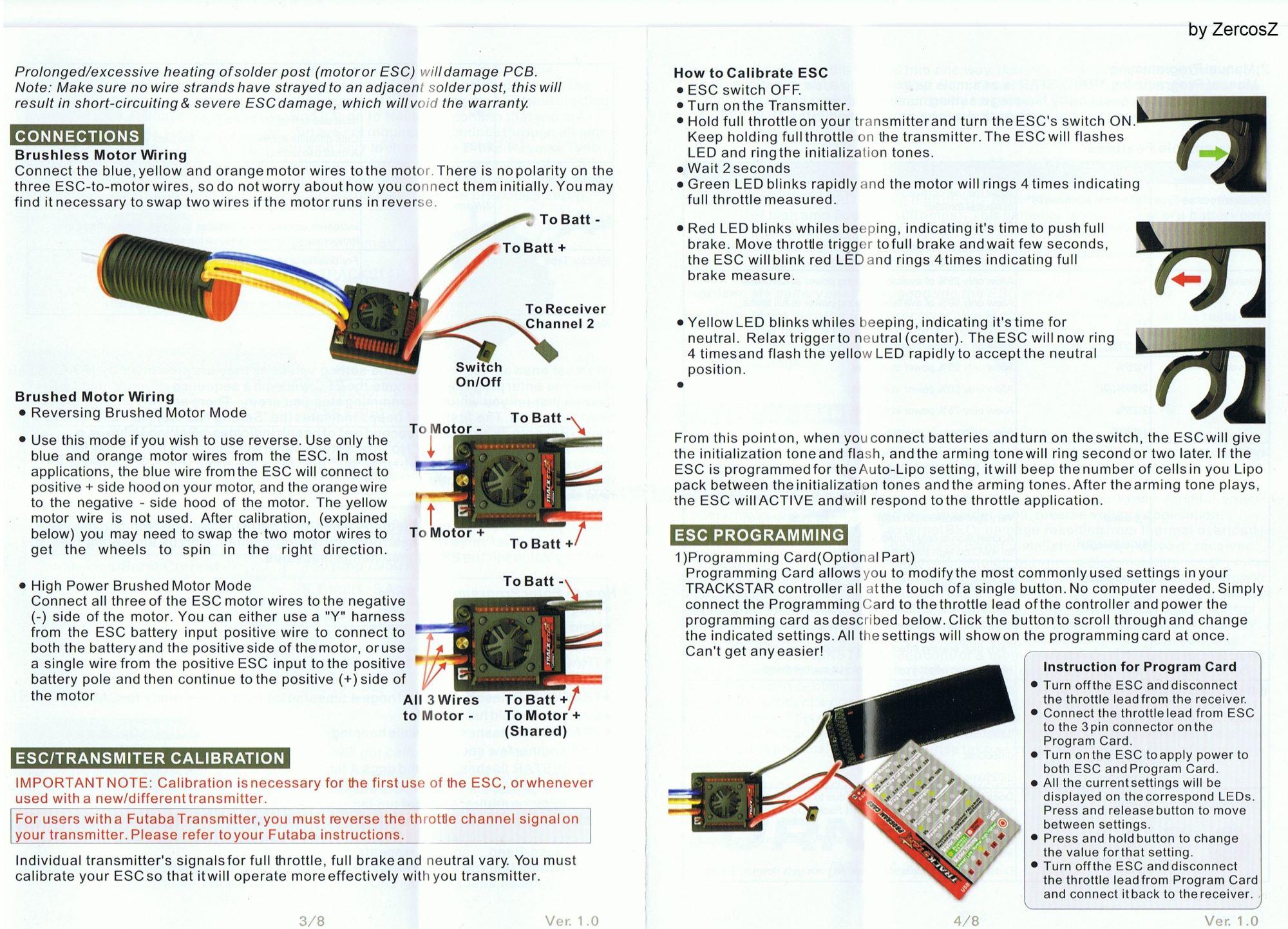 hight resolution of brushless rc motor wiring diagram turnigy trackstar waterproof 1 10 brushless power system 4000kv
