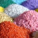 Оцветен кварцов пясък