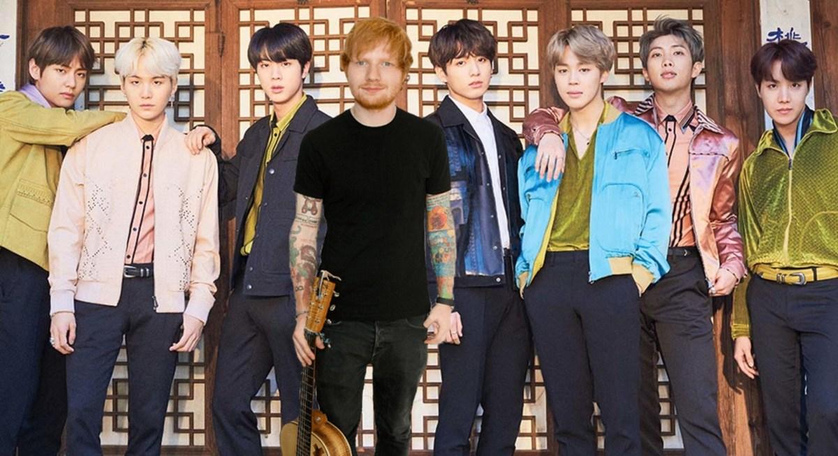 Ed Sheeran napísal skladbu pre BTS