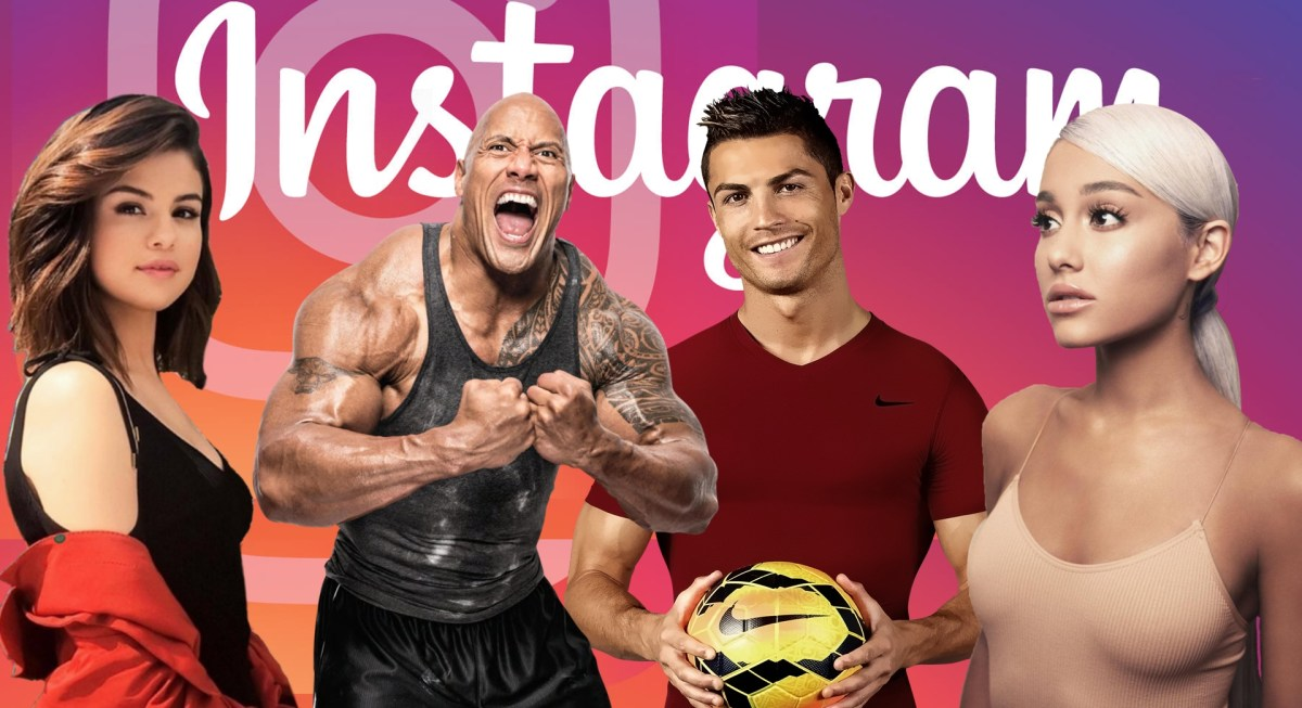 Najsledovanejšie celebrity na Instagrame roku 2018