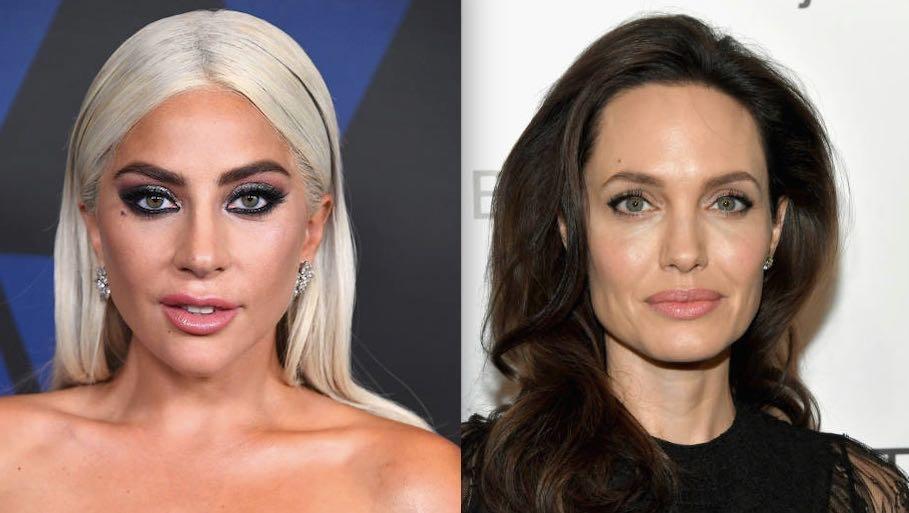 Lady Gaga verzus Angelina Jolie