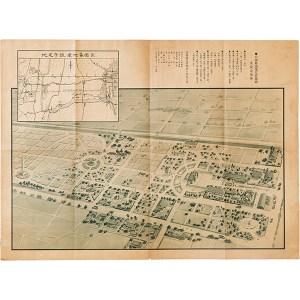 公園墓地予定俯瞰図及設定場所