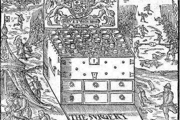 熱蘭遮城的西藥箱與尤紐士牧師的紫羅蘭花園