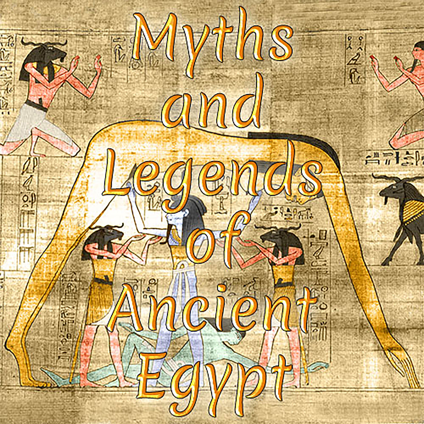 Myths and Legends of Ancient Egypt: Horus Behdety and the Winged Disk