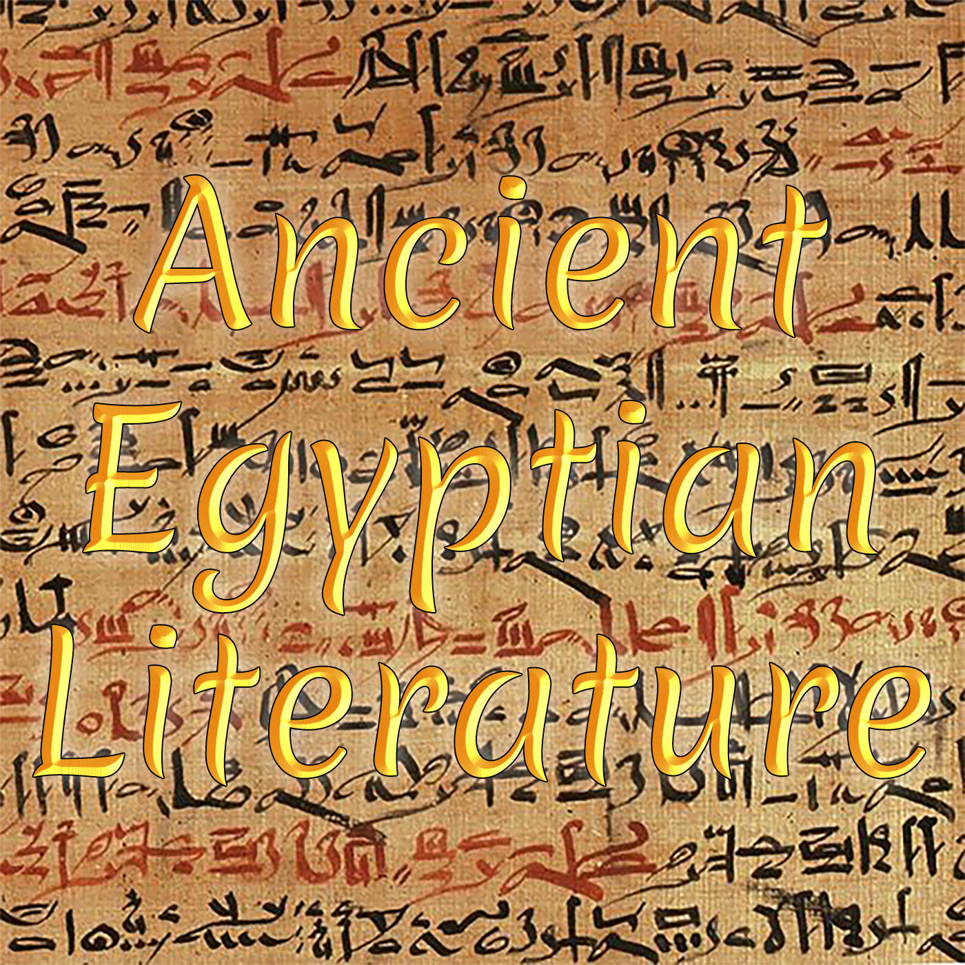 Ancient Egyptian Literature – Great Dispenser of Pleasure