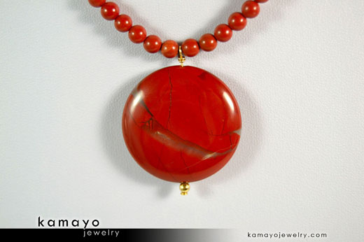Red Jasper Necklace