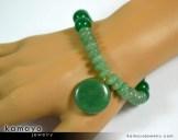 Green Aventurine Bracelet on Hand