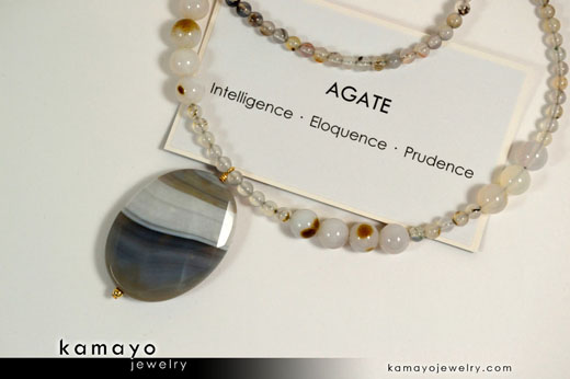 Agate Jewelry Meaning