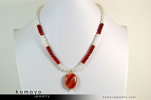 Sardonyx Princess Necklace