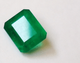 Cut Emerald Source: Mauro Cateb via Wikimedia Commons