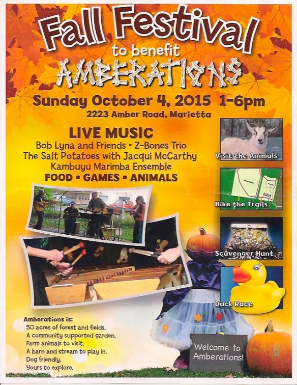 Amberations 2015 Poster