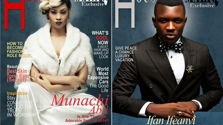 Munachi Abii, Ifan Ifeanyi Michael Grace the Vintage Issue Of House of Maliq, April 2014