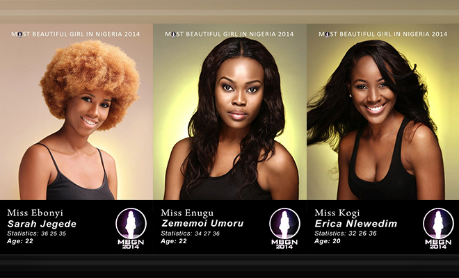 Promo Photos: Most Beautiful Girl in Nigeria (MBGN) 2014 Finalist