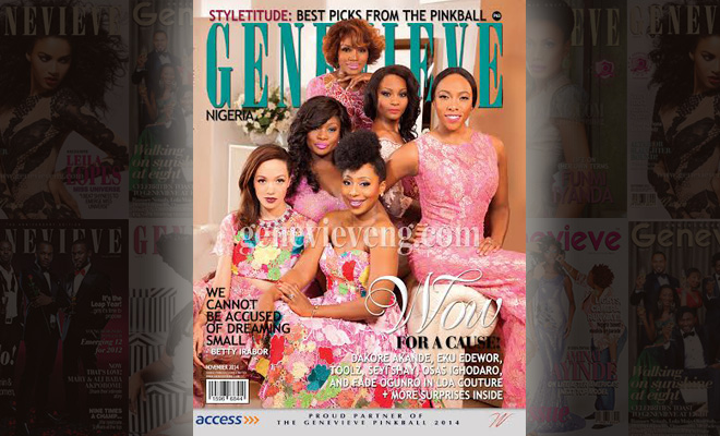 Genevieve Mag's Pink Ball Inspired Cover