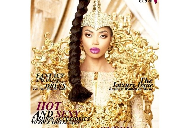 Dencia Covers New Issue of House of Maliq Luxury Magazine