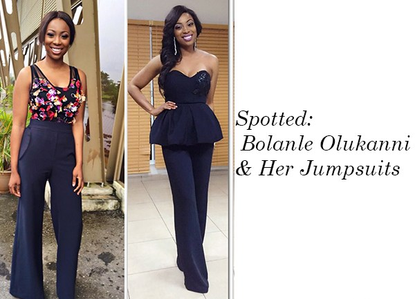 Spotted: Bolanle Olukanni & Her Jumpsuits