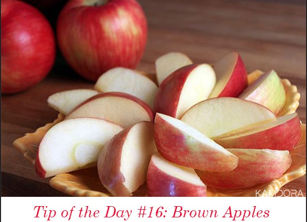 Tip of the Day #16: Brown Apples