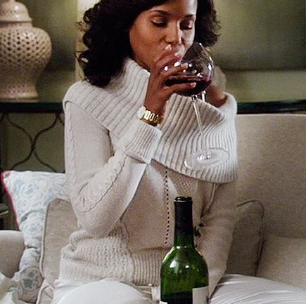 How Olivia Pope and Red Wine