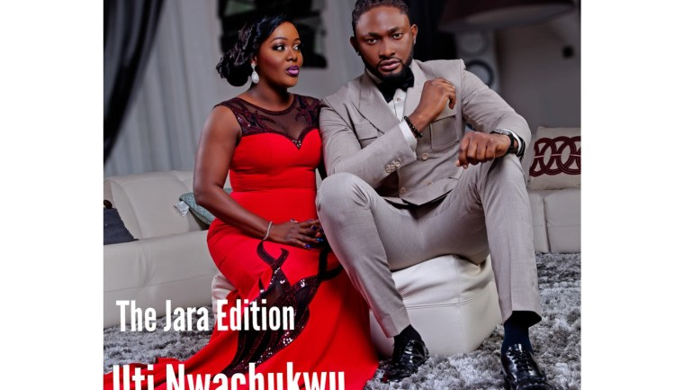 Uti Nwachukwu And Helen Paul Cover The New Edition Of The Celebrity Shoot Magazine