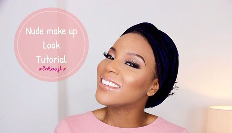 Look the Part: Nude MakeUp Look by Lola OJ and Nikita Baffour