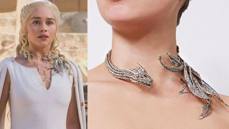 Want to be Khaleesi? This New 'Game of Thrones' Jewellry Line Will Help You