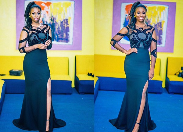 Bolanle Olukanni Sizzles in Sheer Cut Out Dress for Project Fame Gala Show