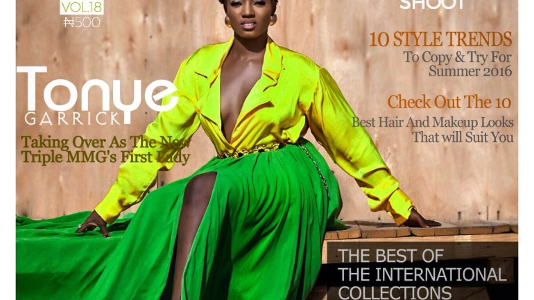 Tonye Garrick x Honorable Adijat Oladapo for The Celebrity Shoot Mag's Double Cover Edition
