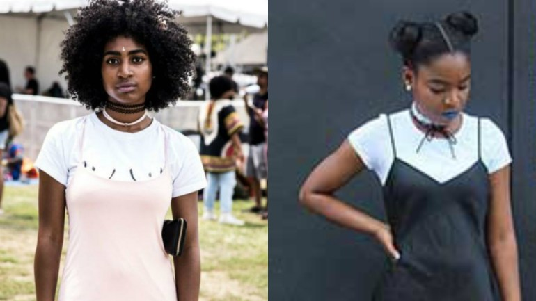 90's Style: Slip-on Dresses Over T-shirts Trend Is Back
