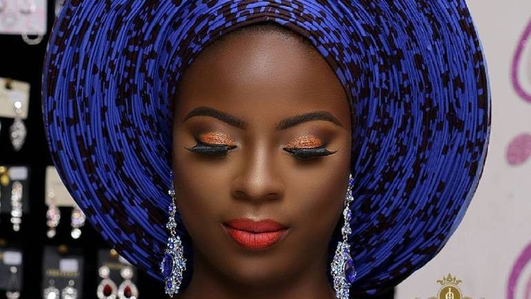 Makeup And Gele #43: Infinity Pleats Gele From Tiwa Jacobs.