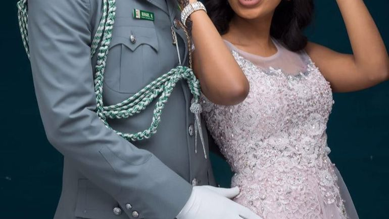 Military Wedding: Muhammed Sani Buhari Is getting Married To His Cute Wife In 2017
