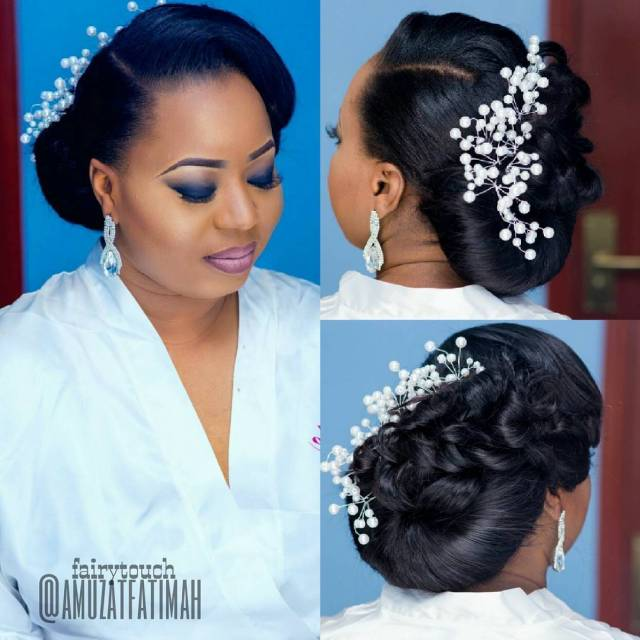 16 gorgeous wedding hairstyles for nigerian brides by hair