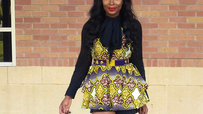 Look Of The Day: Kick Off Your Saturday In This Cute Ankara Short Dress