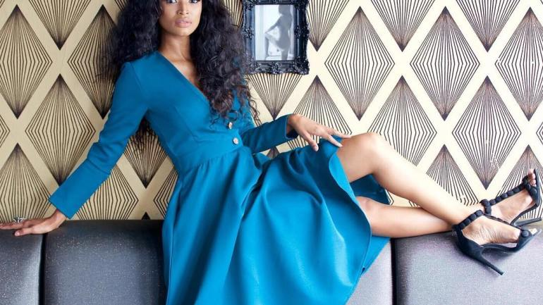 Look Of The Day With The Beautiful Ayanda Thabethe….