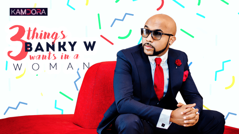 Exclusive: Banky W Shared With Us 3 Things He's Looking For In A Woman At The NiPRO Networking For Love Event!