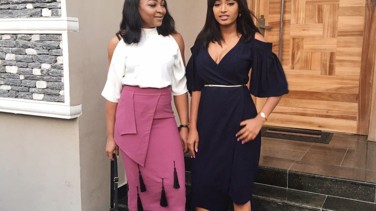 Corporate Drapes #400: Sharon Ojong And Elma Godwin's Outfit Dissection