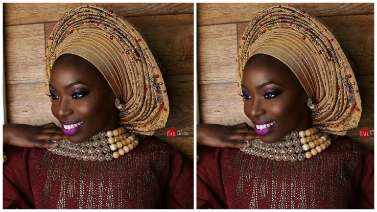 Oni Gele Brings Us Spectacular Wedding Glam Ready Traditional Nigerian Headgears!