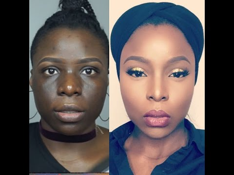Check out this Skin Finish Foundation Routine for Hyperpigmentation on Dark Skin