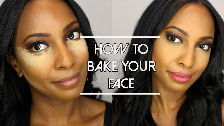Beauty: Learn simple and Quick way to Bake your Face!