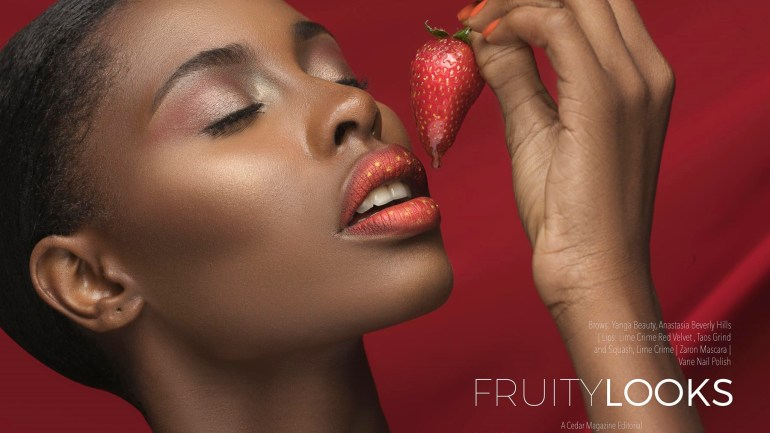 The FruityLooks Editorial Collaboration By Leylarh Cadne & Emmanuel Oyeleke; One Word Gorgeous!