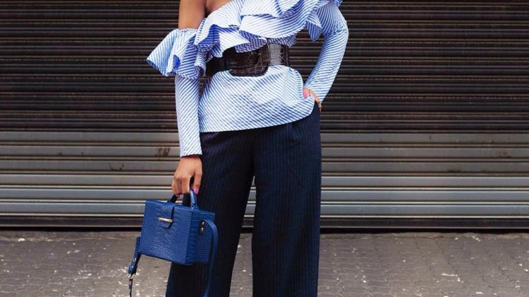 LOTD: Ruffle Top For A Stylish Wednesday With Blogger Palesa!