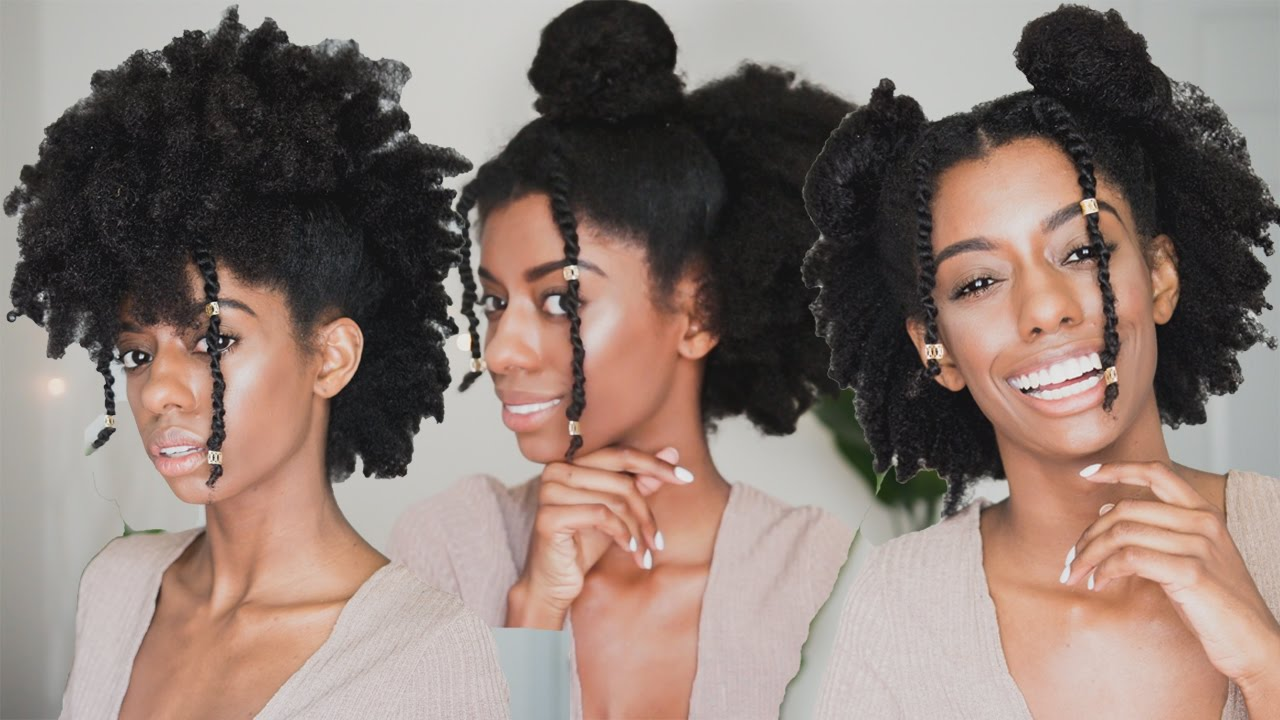 Watch This 3 Easy Hairstyles For 4c Natural Hair Kamdora