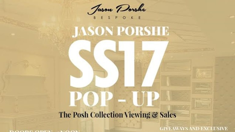 Get Ready For The Jason Porshe Spring Sumer 2017 Collection Shopping Party!