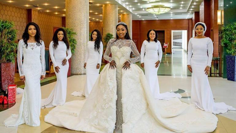 Bridal Overskirts Are The Latest Bridal Trend We Are Feeling