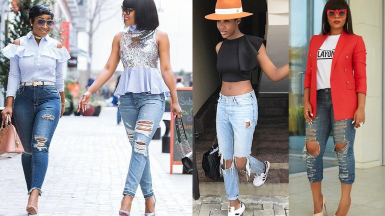 How To Style Ripped Denim Right!